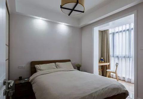 卧室窗台简约风格装潢设计图片