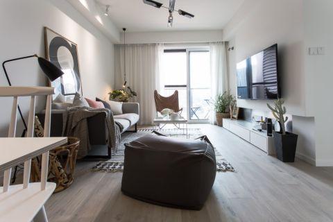 客厅吊顶北欧风格效果图