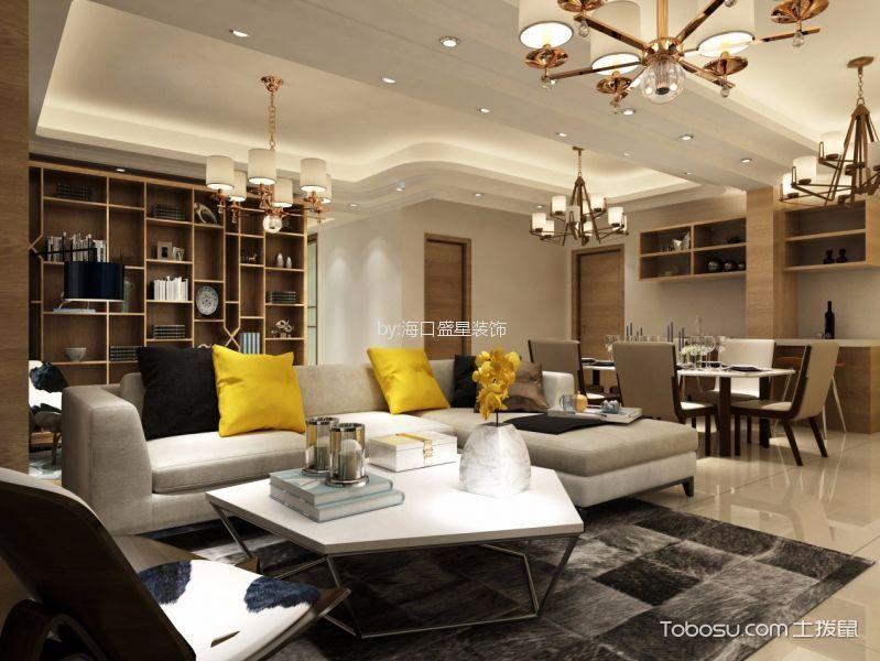 19万预算160平米四室两厅装修效果图