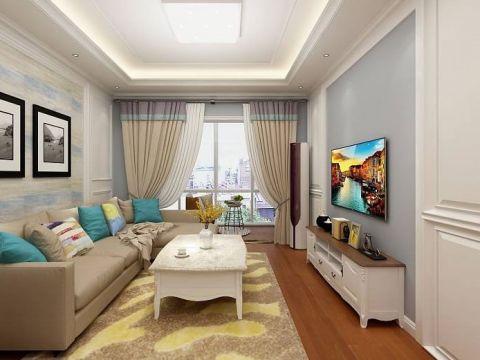 2020美式70平米设计图片 2020美式二居室装修设计