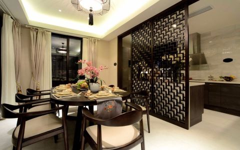 2021新中式90平米装饰设计 2021新中式二居室装修设计