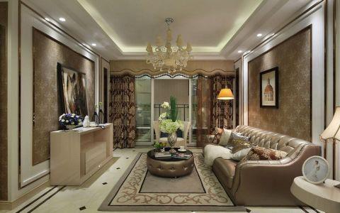 13万预算130平米三室两厅装修效果图