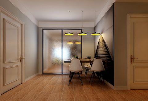 联泰天悦现代风格三居室装修效果图