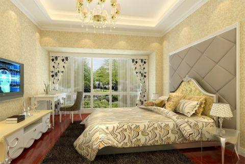 卧室书桌欧式风格装修设计图片