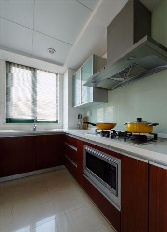 厨房窗台现代简约风格装修图片
