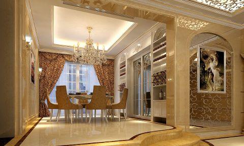 珑湖湾248平欧式四房两厅装修效果图