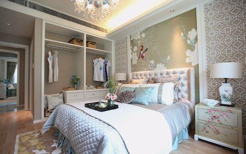 卧室床新中式风格装饰效果图