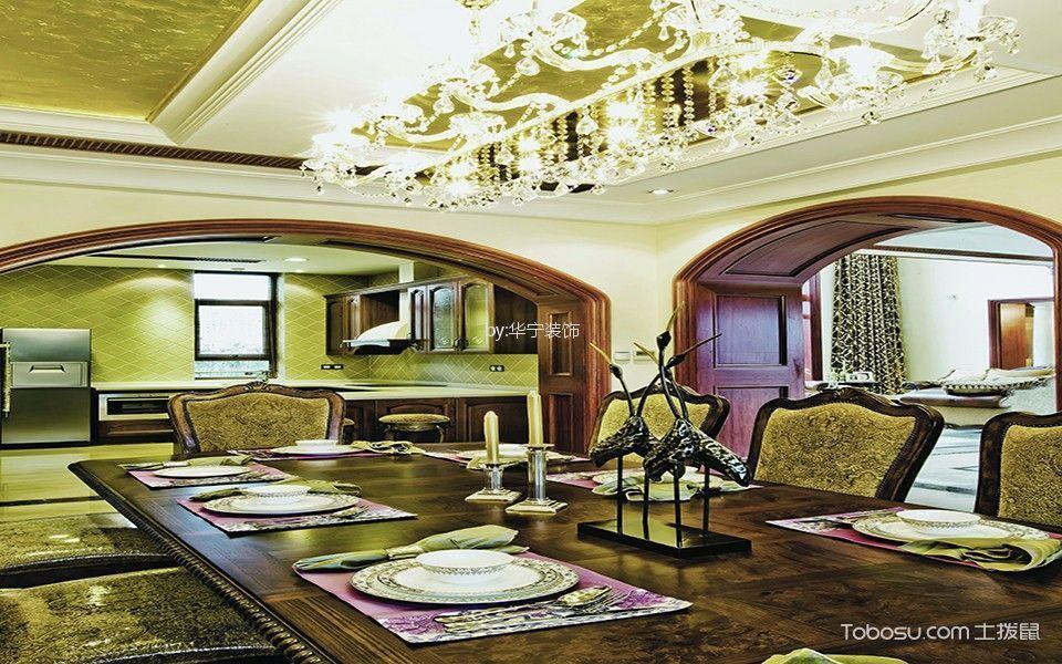 中山凯茵别墅200平米欧式风格效果图