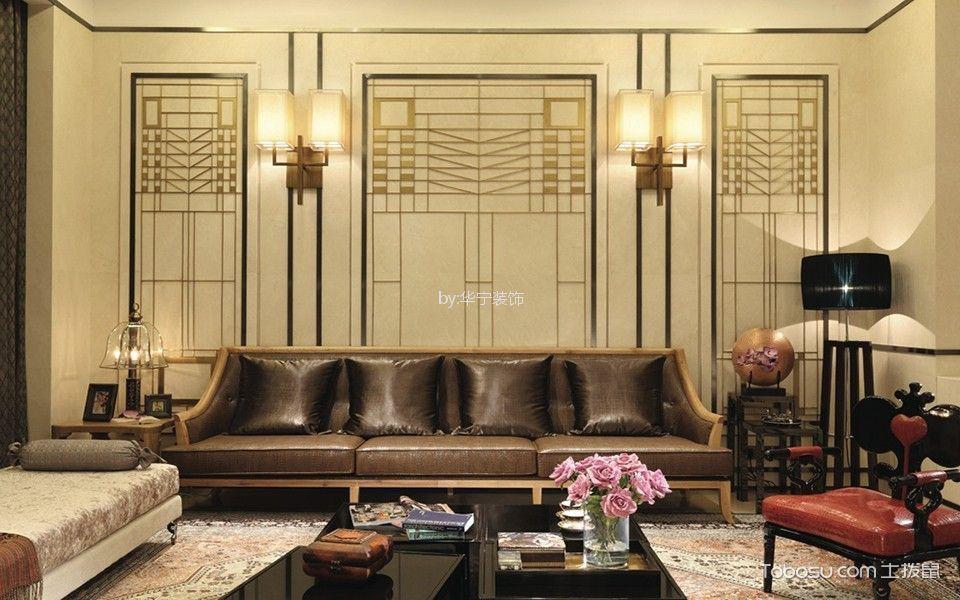 中山凯茵别墅200平米中式风格效果图