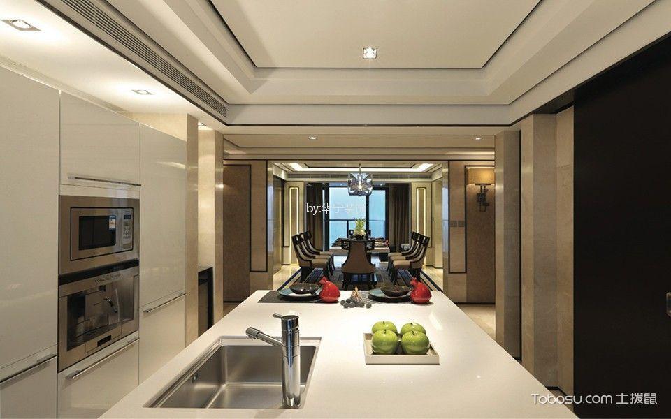 厨房米色细节美式风格装饰效果图