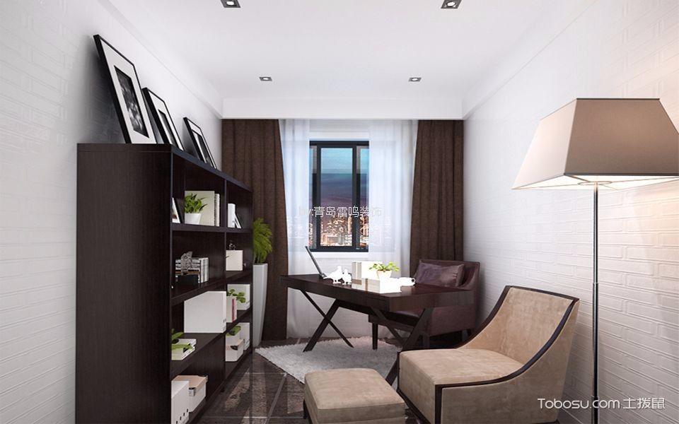 15万预算156平米三室两厅装修效果图