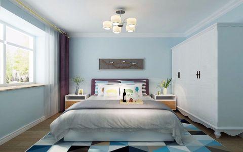 卧室衣柜北欧风格装修设计图片
