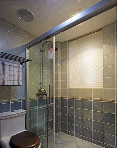 卫生间隔断地中海风格装潢设计图片