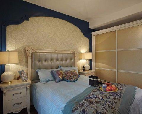 卧室床头柜地中海风格装潢图片