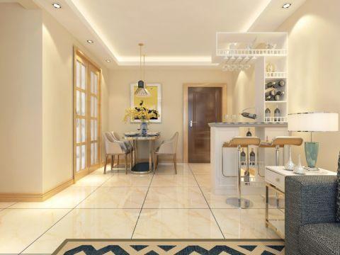 餐厅走廊现代风格效果图