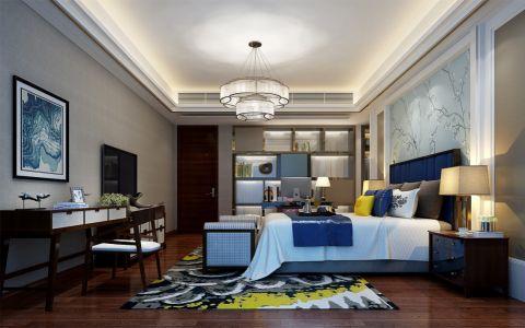 卧室吊顶中式风格效果图