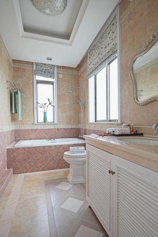 浴室吊顶地中海风格装修图片