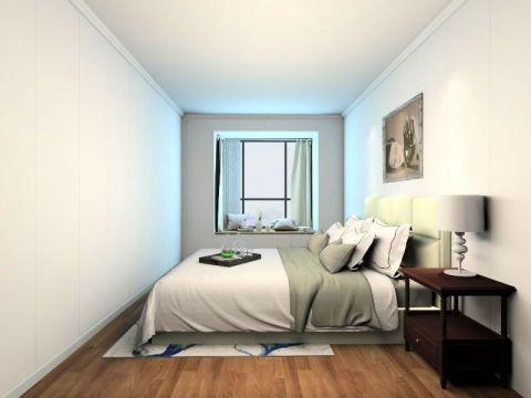 卧室飘窗简欧风格装潢图片