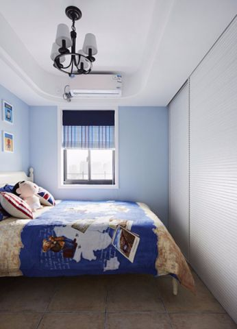 卧室窗台地中海风格装饰效果图