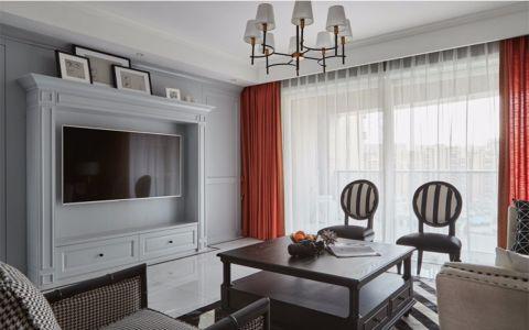 8万预算106平米三室两厅装修效果图