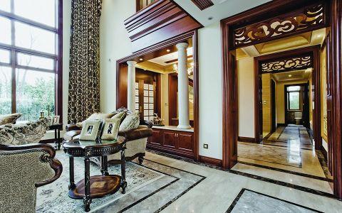 客厅地砖欧式风格装饰效果图