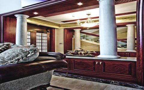 客厅沙发欧式风格装潢效果图