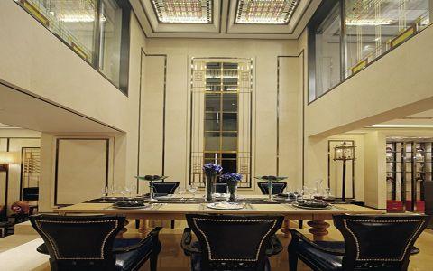 餐厅餐桌中式风格装潢图片
