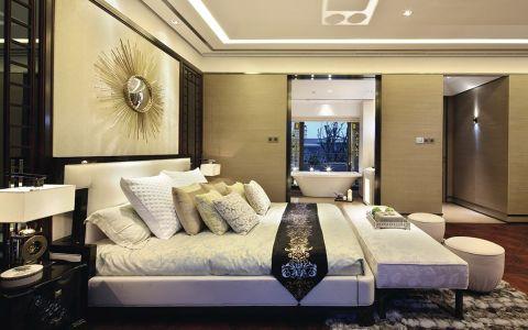 卧室床中式风格装修图片