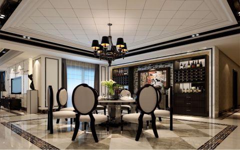 朴素温馨餐厅集成吊顶效果图图片