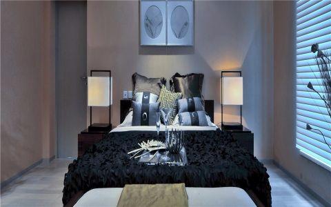 卧室窗台现代简约风格装饰图片