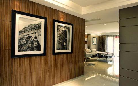 玄关照片墙现代简约风格装潢效果图