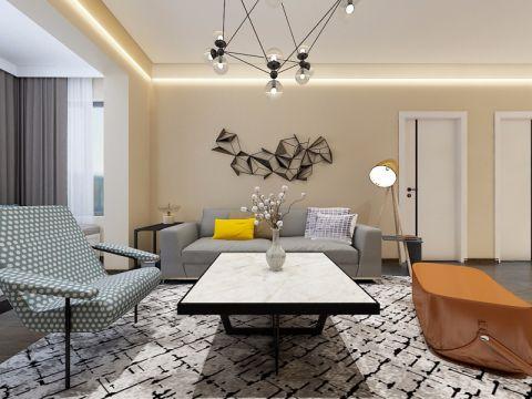 客厅吧台现代简约风格装饰效果图