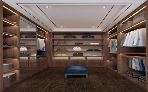 衣帽间橱柜新中式风格装修图片