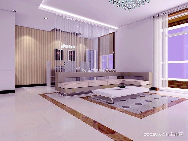 19万预算145平米三室两厅装修效果图