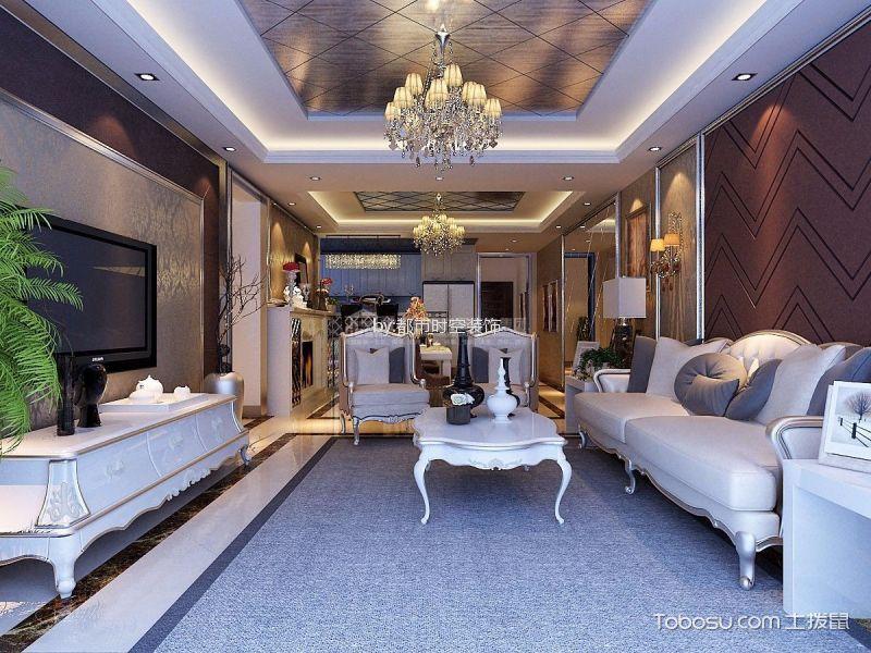 9.1万预算160平米四室两厅装修效果图