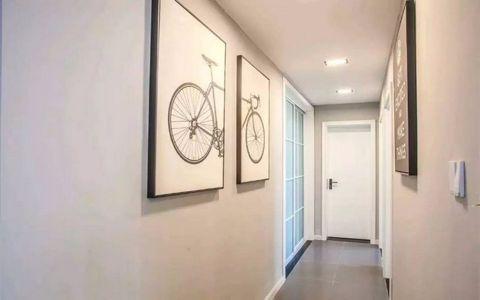 玄关走廊北欧风格装潢设计图片