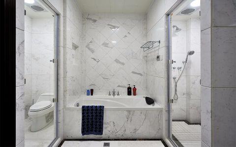 卫生间背景墙简欧风格效果图