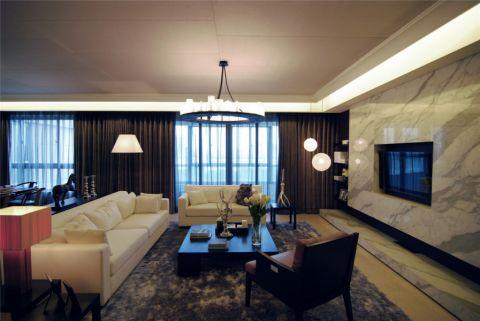 19.8万预算180平米四室两厅装修效果图