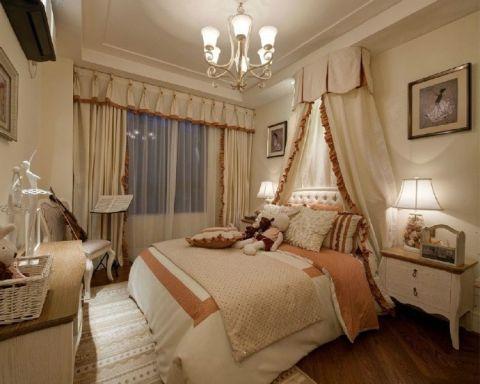 卧室吧台美式风格装饰效果图