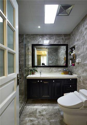 卫生间隔断美式风格装修图片