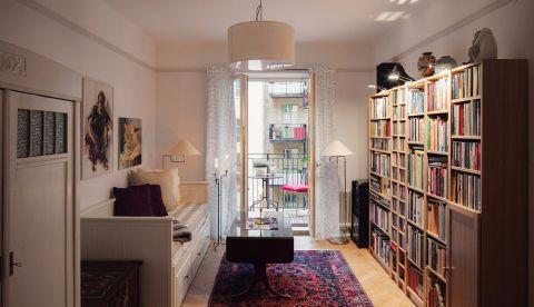 书房榻榻米北欧风格装饰设计图片