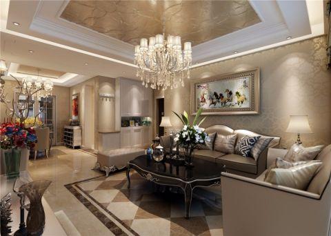 郑州一号家居网正商城欧式风格三居室装修效果图