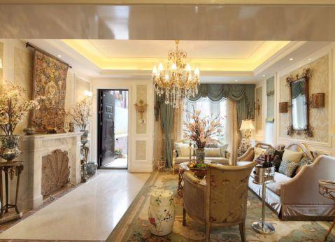 客厅细节法式风格装饰设计图片