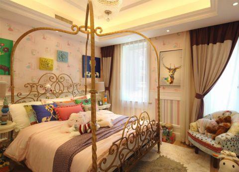 卧室细节法式风格装饰效果图
