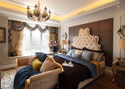 卧室细节法式风格装潢效果图