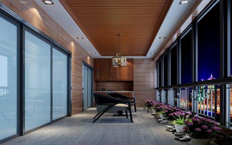 阳台走廊新古典风格装修设计图片