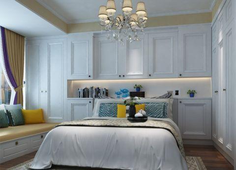 卧室背景墙古典风格装饰效果图