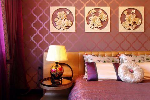 卧室细节中式风格装饰效果图