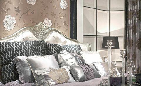 卧室细节欧式风格装潢图片