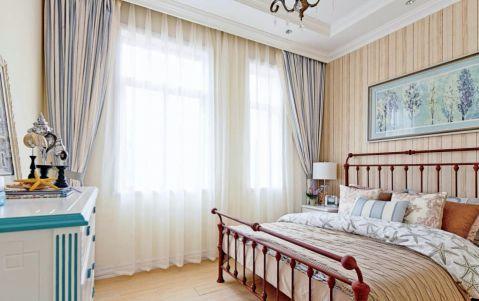 卧室细节田园风格装饰效果图